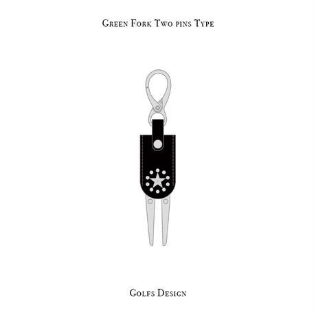 グリーンフォーク 2ピン タイプ / サークルスター デザイン