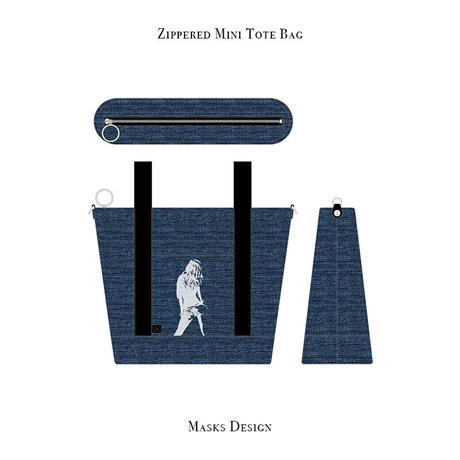 ファスナー付きカートバッグ / キュート バック ガール デザイン