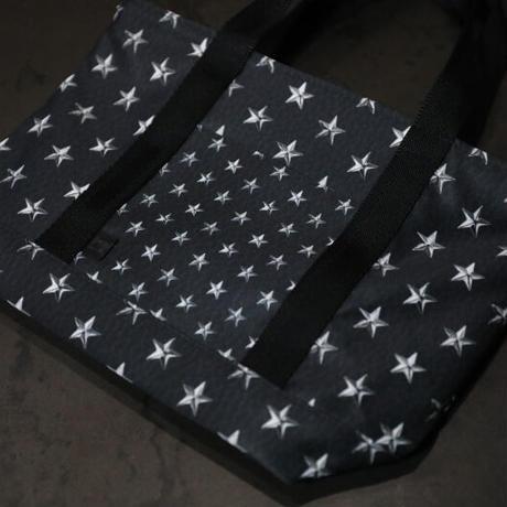 ファスナー付きカートバッグ / スタースポッツスタイル デザイン ( ブラックレザー )