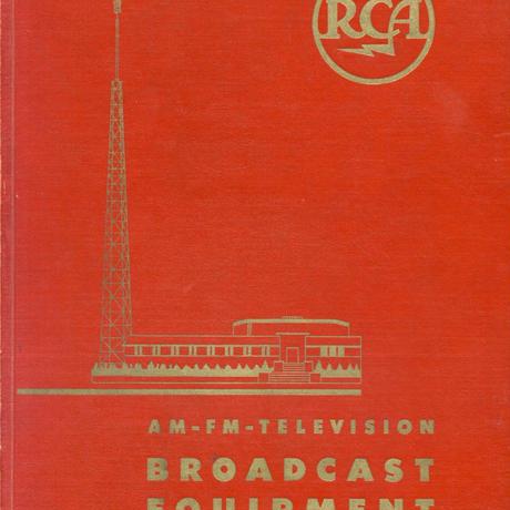 RCA BROADCAST EQUIPMENT 1950 (PDF)