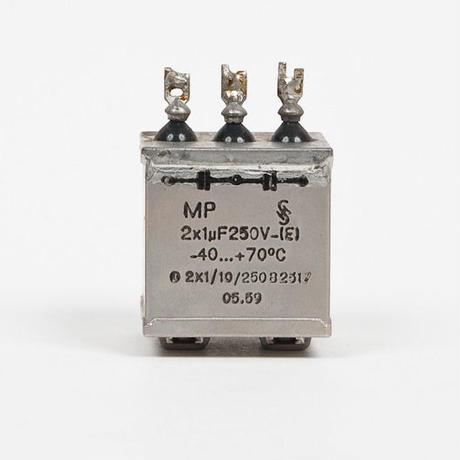Simens 1uF+1uF/250V PIO コンデンサー 2個セット