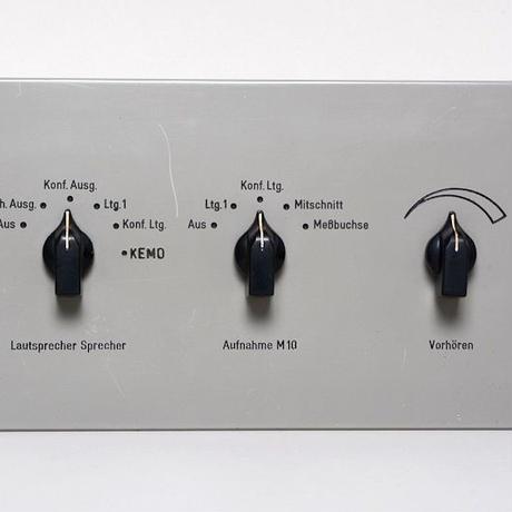 Siemens console panel