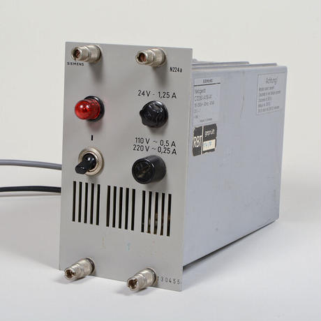 neumann W444a STEREO 中期型 /ドイツ製 1Uダナーラックラッキング済+ siemens N224a PSU(結線済専用コネクタ付)
