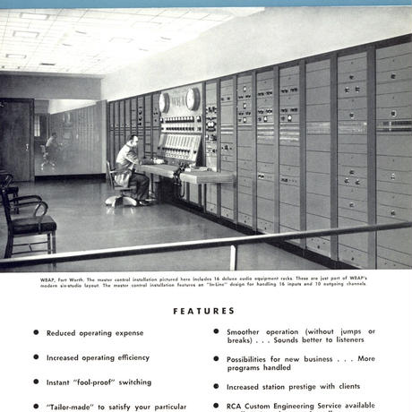 RCA BROADCAST AUDIO EQUIPMENT 1957 (PDF)