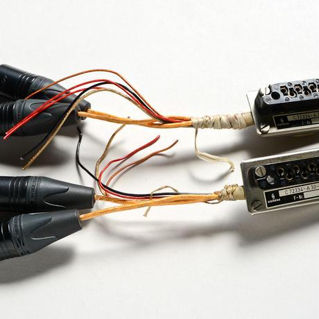 Siemens コネクタサポート Tuchel 8pin T2001 ブレイクスルーケーブル ペア