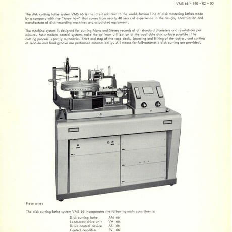 Neumann Vintage Catalogue 01