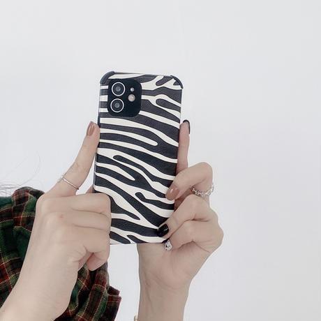 ゼブラ柄 牛柄 iphone13/13promaxケース  皮ソフト iphone12/11promaxカバー   耐衝撃 頑丈  M992