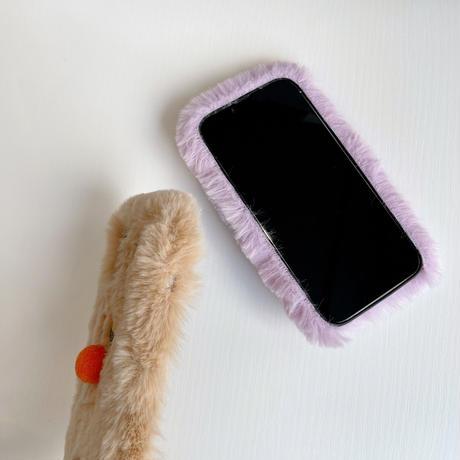 お揃いモンスター iphone13/13proケース 暖かい  アイフォン12/11Pproカバー  ふもふも  柔らかい  秋冬コーデM1136