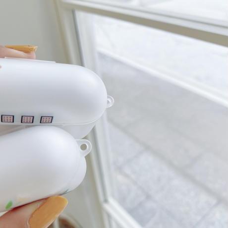可愛いクリア クマ AirPodsProケース  ソフトbear airpodsカバー    シンプル風頑丈カバーM316