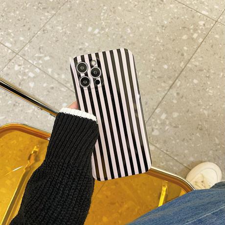 縞模様 iphone13/13proカバー お上品 iphone12pro/11ケース  シンプル ファッションセンスいいM1123