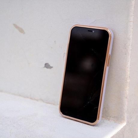 ジュエルデコカメラ iphone11/12proケース 金色枠クリア iphoneXS/SE2カバー  耐久性耐衝撃 おしゃれ M470