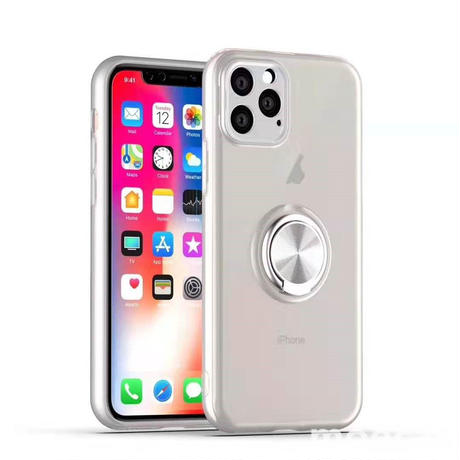 リング付き iphone11ケース  iphoneXI MAXケース シンプル風の2019 iphoneカバー samsung S10/s10 plus/s10eケース