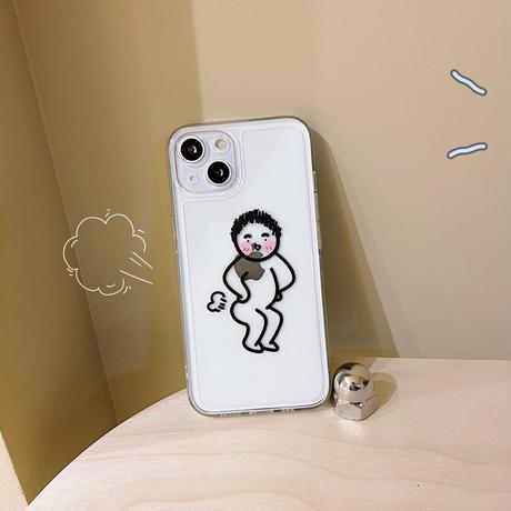 お揃いペア iphone13pro/13promaxカバー カップルペア  iphone12/11ケース  面白い 高透明 キュート M1132