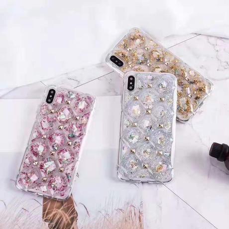 キラキラ iphoneXI/XSケース おしゃれiphoneXR2スマホケース 個性リベット付 iphone5.8インチ女子向け
