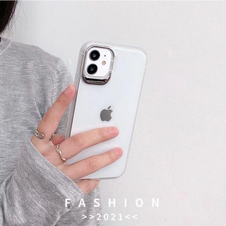 スマホスタンド付 アイフォン13mini/13promaxカバー  高品質 指紋汚れが付きにくい  iphone12/11ケース   クリア 耐衝撃  M1029