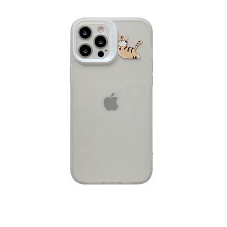 お揃い虎柄 iphone13/13promaxケース 透明感 アイフォン12pro/11proamxカバー  ペア可愛い ギフト 動物柄M1141