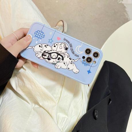 牛柄犬柄  iphone12/11promaxケース  お揃いペア iphone11/xs/se2カバー   可愛い  頑丈  手触りいいM767