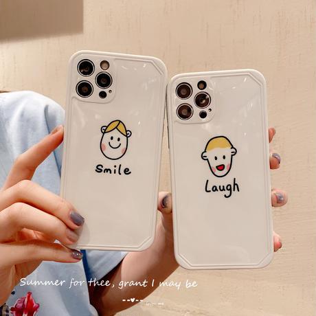 お揃いペア  iphone12/12promaxケース  girl boy iphone11/xs/se2カバー   可愛い  頑丈艶ありM759
