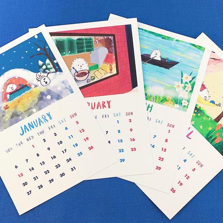 2020年 カレンダー(日本版祝日/Japanese Holidays)