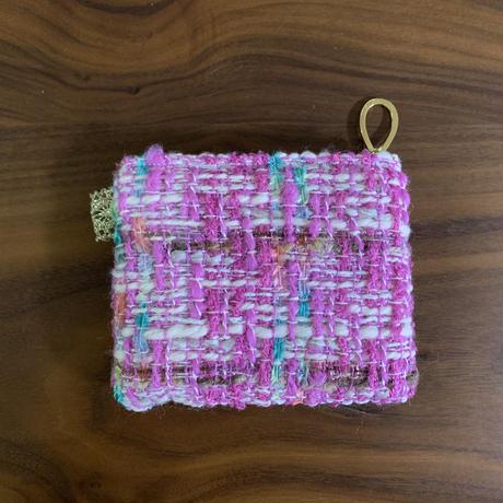 ポーチミニ(Japan tweed・ pastel 4pattern)