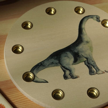 Birthday ring / dinosaur 22cm 楓