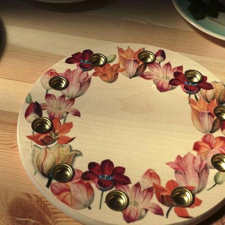 Birthday ring /  tulip 22cm 楓
