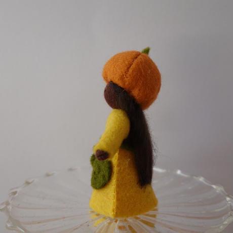 かぼちゃの女の子の妖精 ブラック