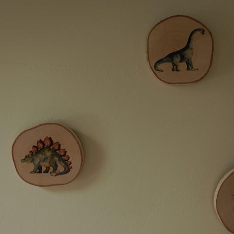 mural /ウォールデコ dinosaur 11.5cmブナ