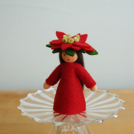 ポインセチア の妖精 ベージュ
