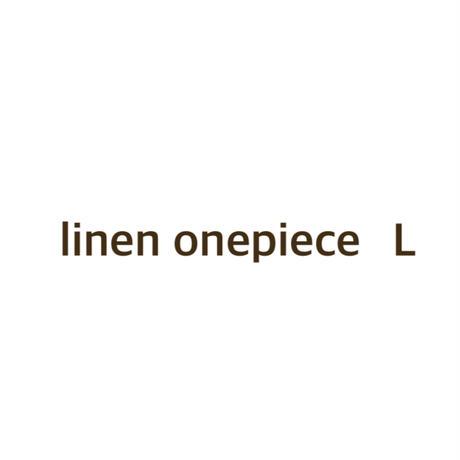 linen onepiece L