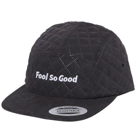 """Fool So Good"" Quilting  Jet Cap"