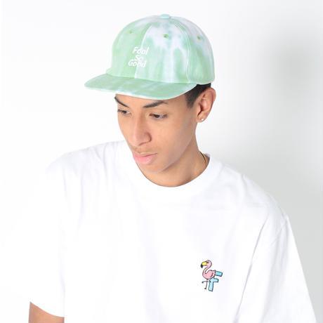 Three Rows Logo Tie-Dye Flat Cap