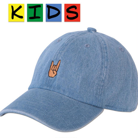 "KIDS ""Maloik Sign"" Curve Visor Low Cap"