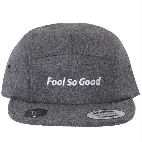 """Fool So Good"" Wool  Jet Cap"