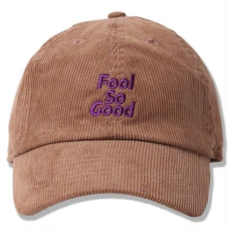 Fool So Good Corduroy Curve Visor Low Cap
