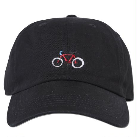 """Bicycle"" Curve Visor Low Cap"