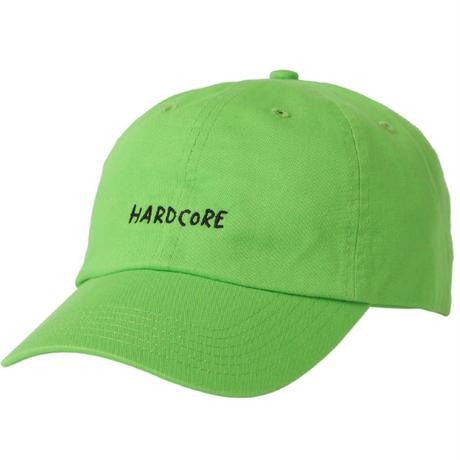 """HARD CORE"" Curve Visor Low Cap"