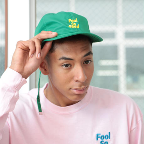 """Fool So Good"" Nylon Flat Visor Low Cap(限定)"