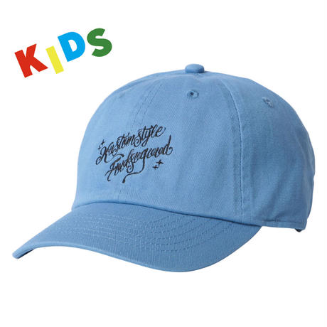 KIDS Fool So Good x KUSTOMSTYLE Script Curve Visor Low Cap