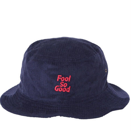 """Fool So Good"" Corduroy Bucket Hat"