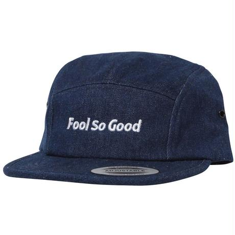 """Fool So Good"" Denim  Jet Cap"