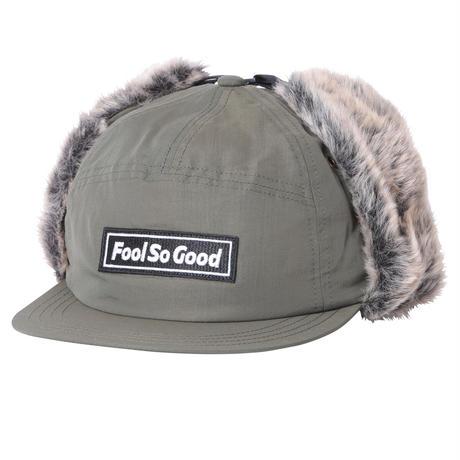 """Fool So Good"" Box Logo Wappen Nylon Flap Cap"