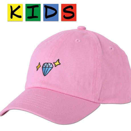 "KIDS ""Diamond"" Curve Visor Low Cap"