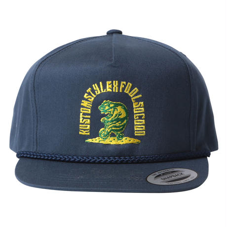 Fool So Good x KUSTOMSTYLE Grizzly Bicycle  Rope Cap