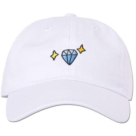 """Diamond"" Curve Visor Low Cap"