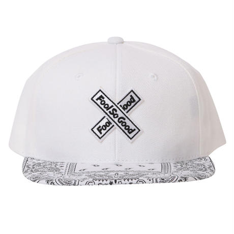 X Wappen Paisley Flat cap