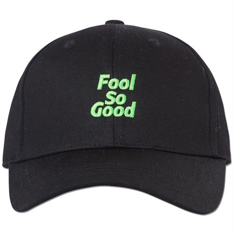 """Fool So Good"" Curve Visor Middle Cap(Neon EMB)"