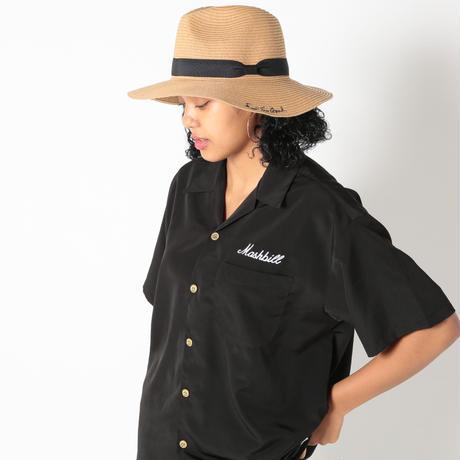 Script Logo Long Brim Flat Hat