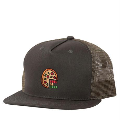 Round Pizza Flat 5P Mesh Cap