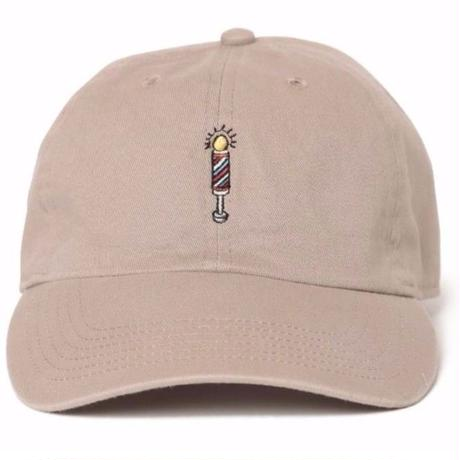 """Barber's pole"" Low Cap"